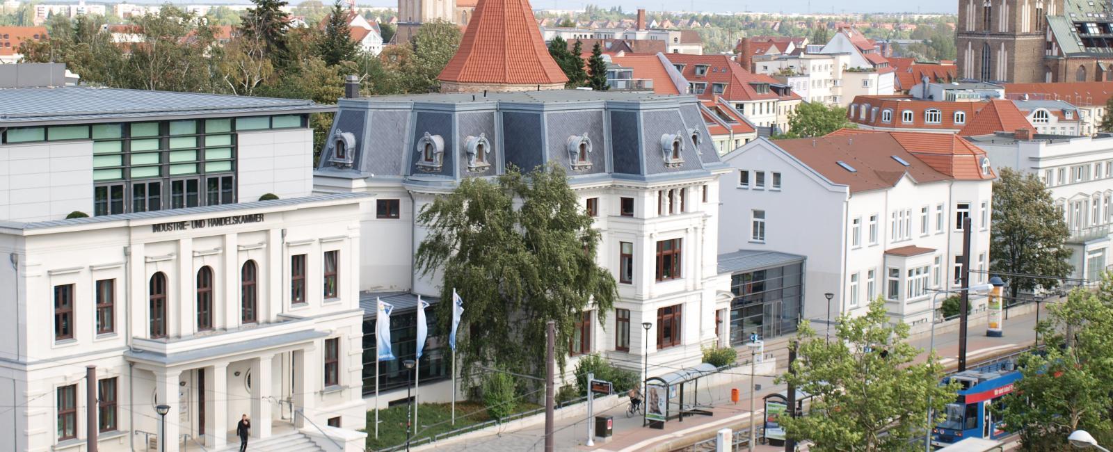 Hauptgebäude IHK zu Rostock