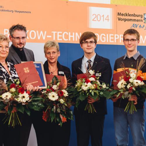Preisträger Ludwig-Bölkow-Technologiepreis MV 2014