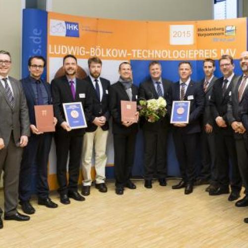 LUDWIG-BÖLKOW-TECHNOLOGIEPREIS MV - Preisträger 2015 und Auslober